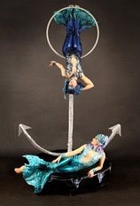 La Luna Mermaids & Anchor Freestanding