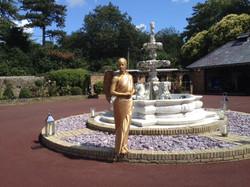 Gold Angel Statue