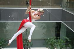 Aerial Silks - red