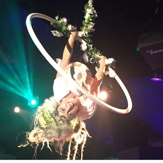 Peaseblossom - Aerial Hoop