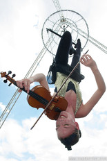 Freestanding Tripod Rig with Chandelier & Violinist