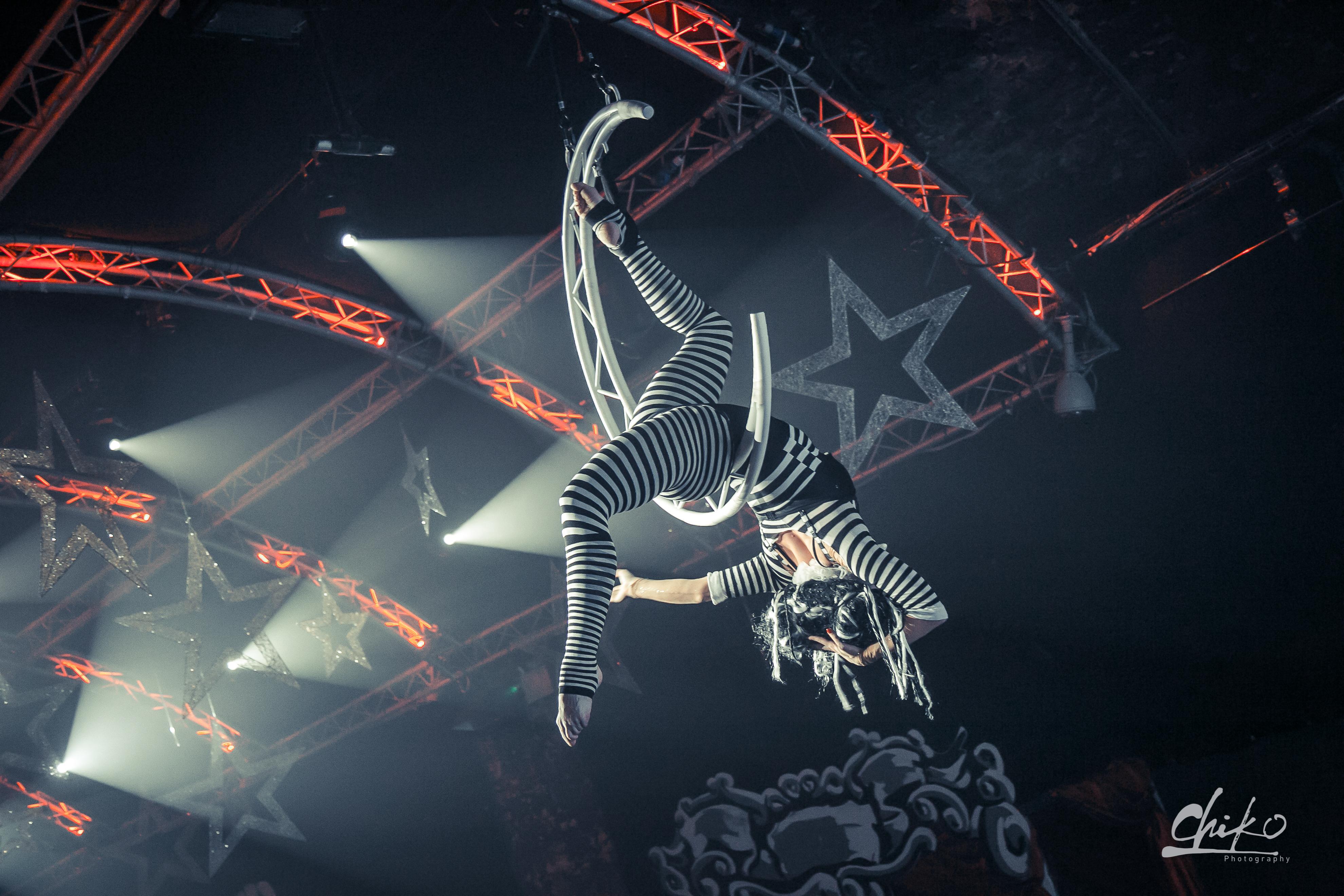 Aerial Moon - Night Circus