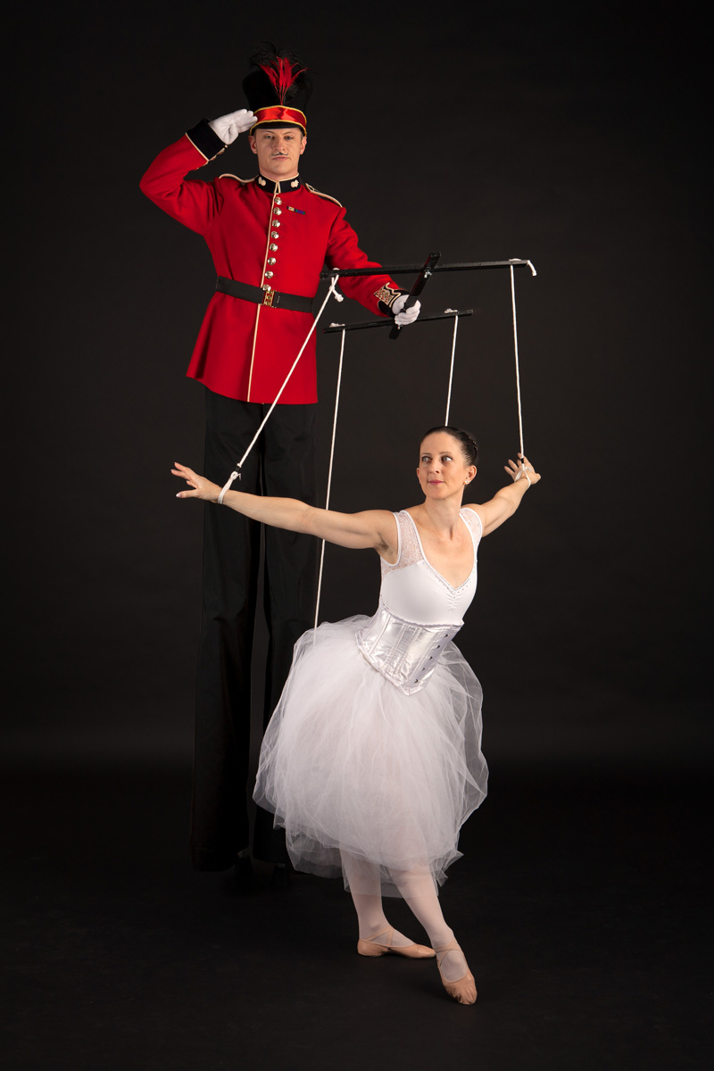 Nutcracker Toy Soldier & Ballerina (3)