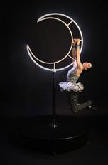 Moona Circus - LED Freestanding Aerial Moon