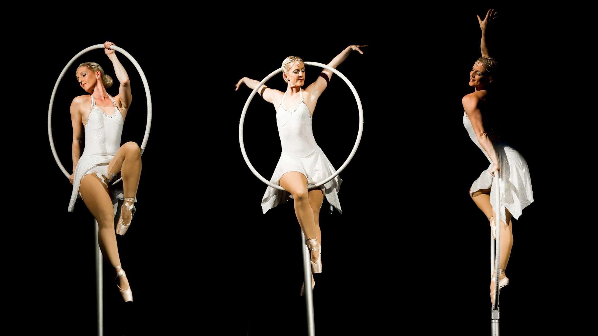Freestanding Aerial Hoop Corporate