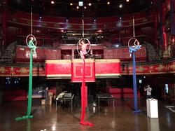 Aerial Hoop Trio Cirque