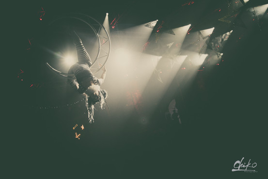 Aerial Moon - Night Circus Theme