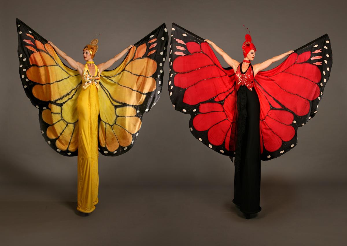 Mariposa / Butterfly Stiltwalkers