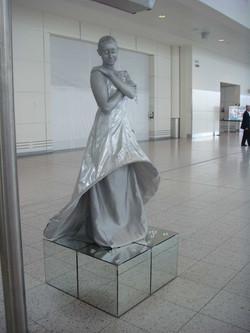 The Dream Crystal Statue mirror