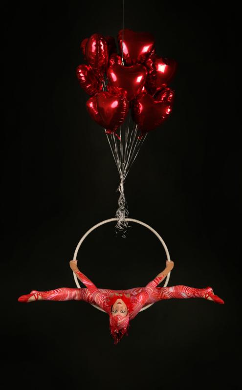 Loveheart Aerial Hoop