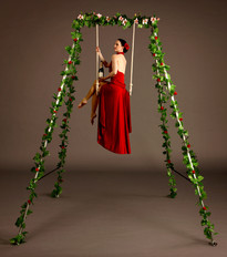 Champagne Gardens with Trapeze