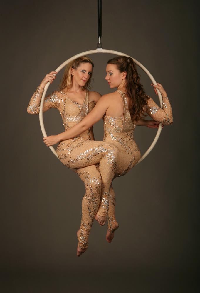 Elegance Aerial Hoop Duet