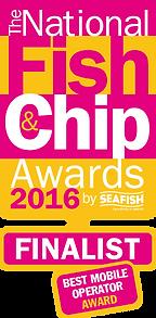 Best mobile fish and chip van award 2016
