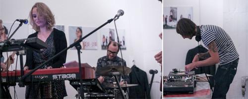 Band and DJ