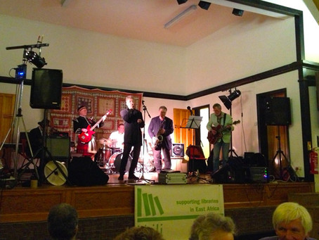 Massive success of the Blues Revue in aid of the Akili Trust