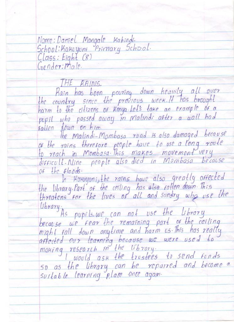 daniel letter