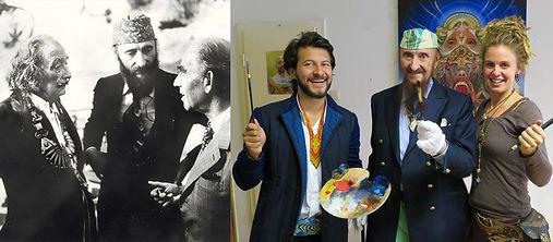 Alt Salvador Dali, Alex Sastoque , Ernst Fuchs, Amanda Sage,  arte visionario