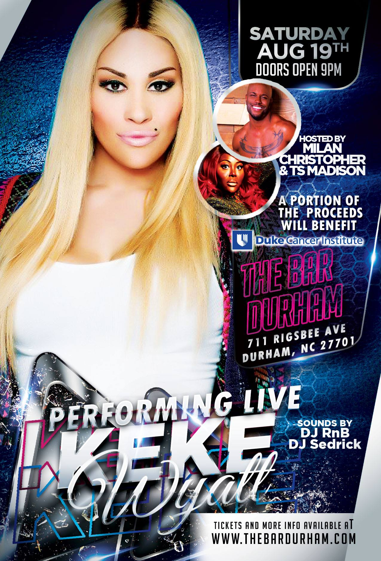 KEKE WYATT PERFORMING LIVE