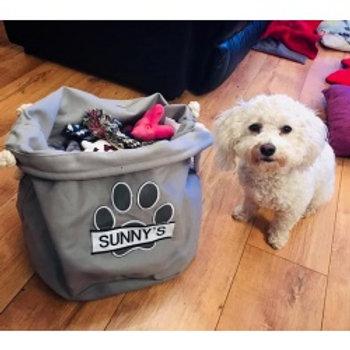 Dog Toy Soft Bag/Holder.