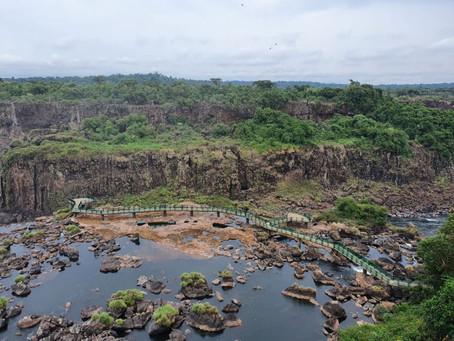 Copel diz que vasão das Cataratas do Iguaçu está abaixo da média há mais de três meses