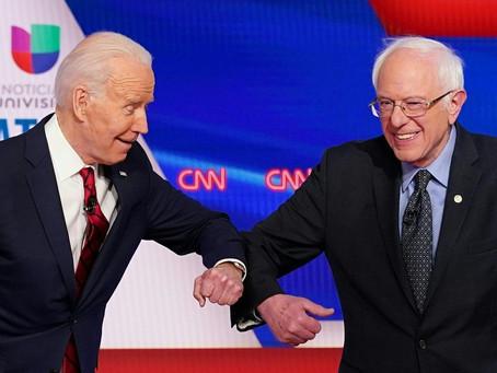 Bernie Sanders anuncia apoio à candidatura de Joe Biden à presidência dos EUA