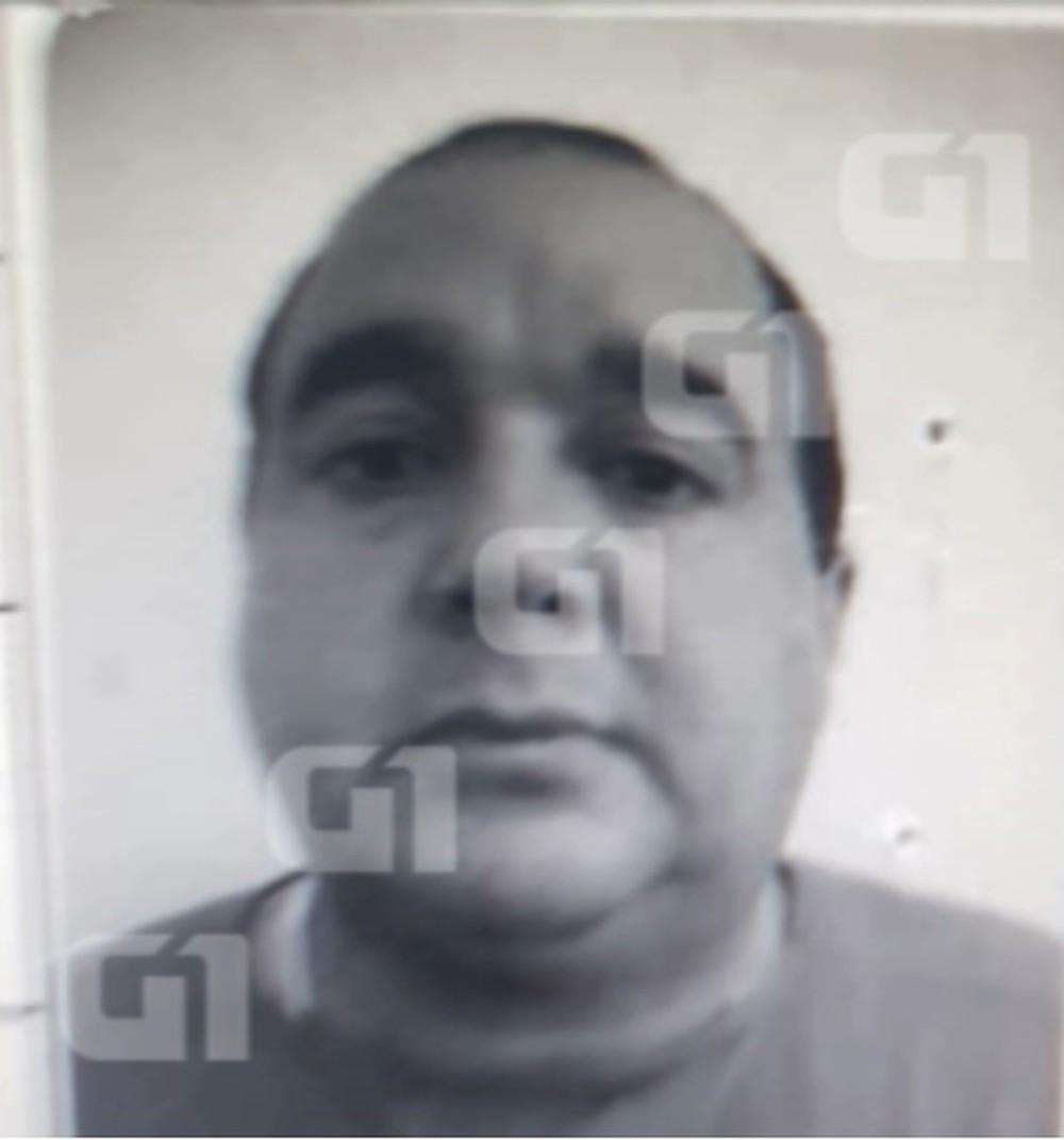 Carlos Eduardo dos Santos é suspeito de matar a menina Rachel Genofre e colocar o corpo em uma mala, em Curitiba (Foto: Reprodução / G1 PR)