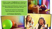 Talleres online: Ciencia en Familia