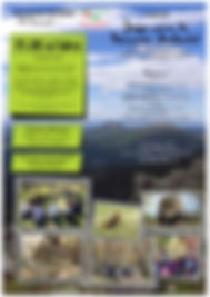 Cartel curso Educacion Ambiental