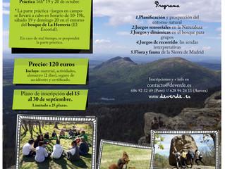 Curso: Juegos para la Educación Ambiental