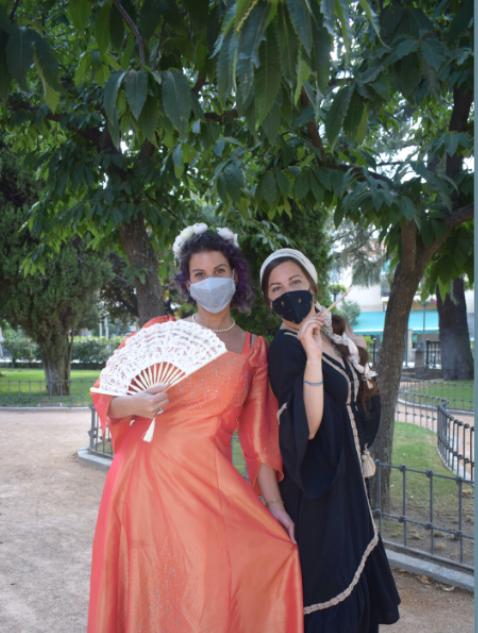 Manuela de Portugal y Lavinia Fontana