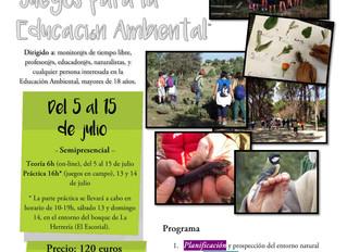Curso de Verano - Educación Medioambiental