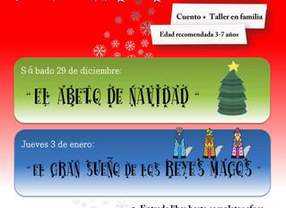 Cuenta cuentos en Navidad
