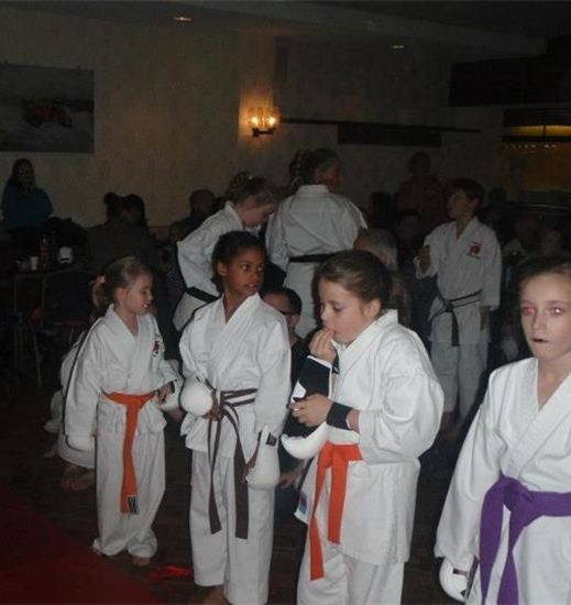 Students From Kaizen Karate Club Competing at Seahouses