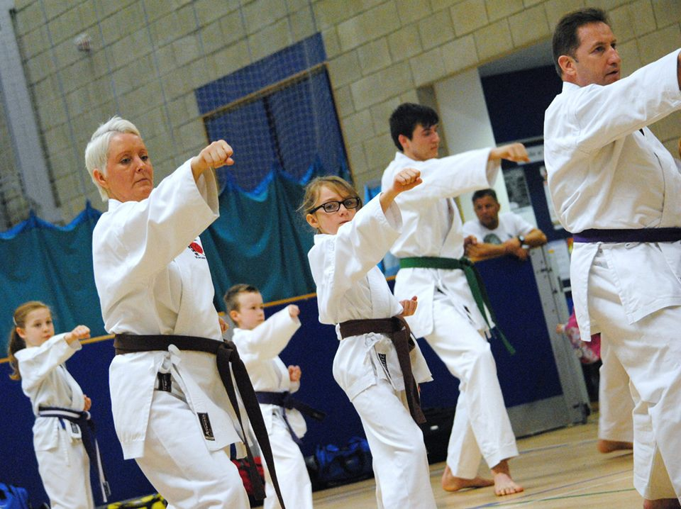 All grades open Karate course