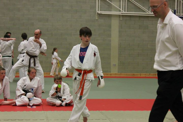 StudentsFrom Kaizen Karate Club
