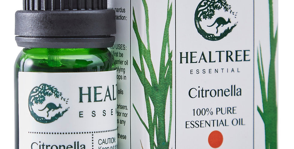 Citronella Essential Oil - 100% Pure Citronella Oil - 10ml