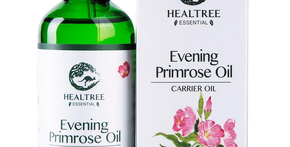 Evening Primrose Oil 100ml - Organic Virgin Grade 100% Pure Natural Carrier Oil