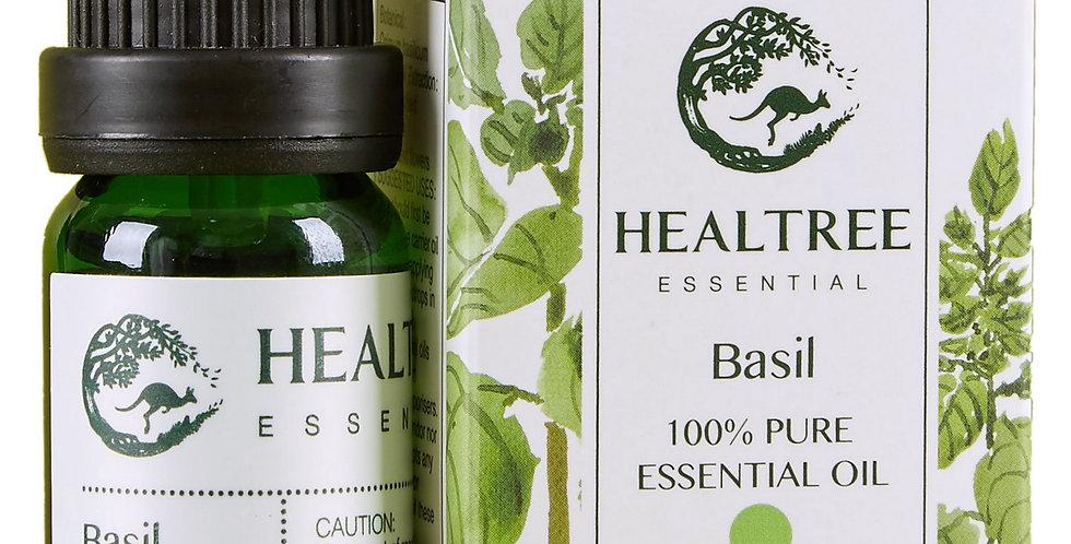 Basil Essential Oil - 100% Pure Basil Oil - 10ml