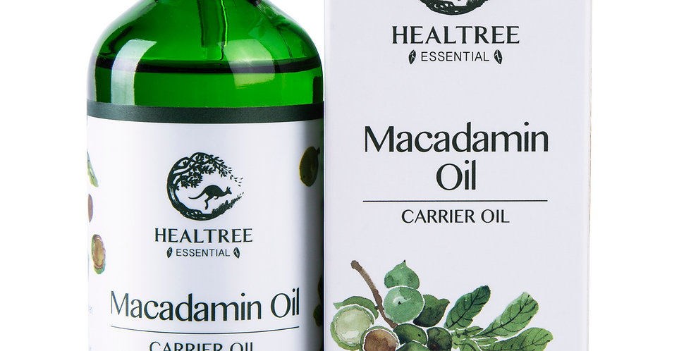 Macadamia Oil 100ml - Australia Virgin Grade - 100% Pure & Natural Carrier Oil