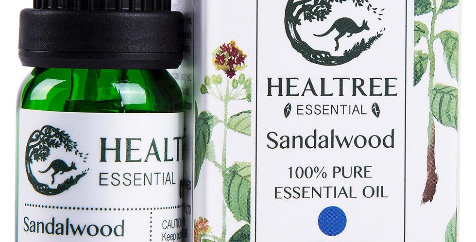 Sandalwood Essential Oil - 100% Pure Sandalwood Oil - 10ml