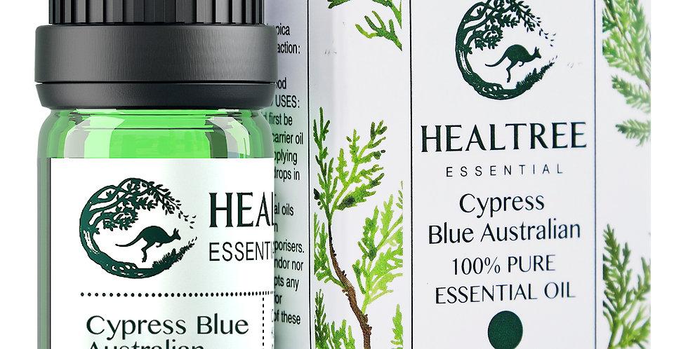 Blue Cypress Essential Oil - 100% Pure Australian Blue Cypress Oil - 10ml