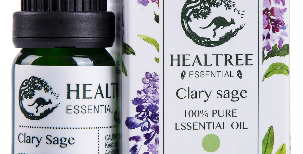 Clary Sage Essential Oil - 100% Pure Clary Sage Oil - 10ml