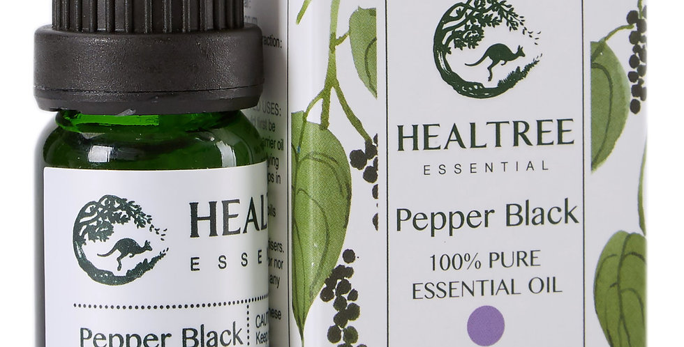Black Pepper Essential Oil - 100% Pure Black Pepper Oil - 10ml