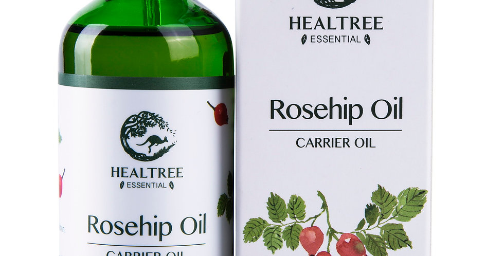Rosehip Oil 100ml - Virgin Grade - 100% Pure Natural Cold Pressed Carrier Oil