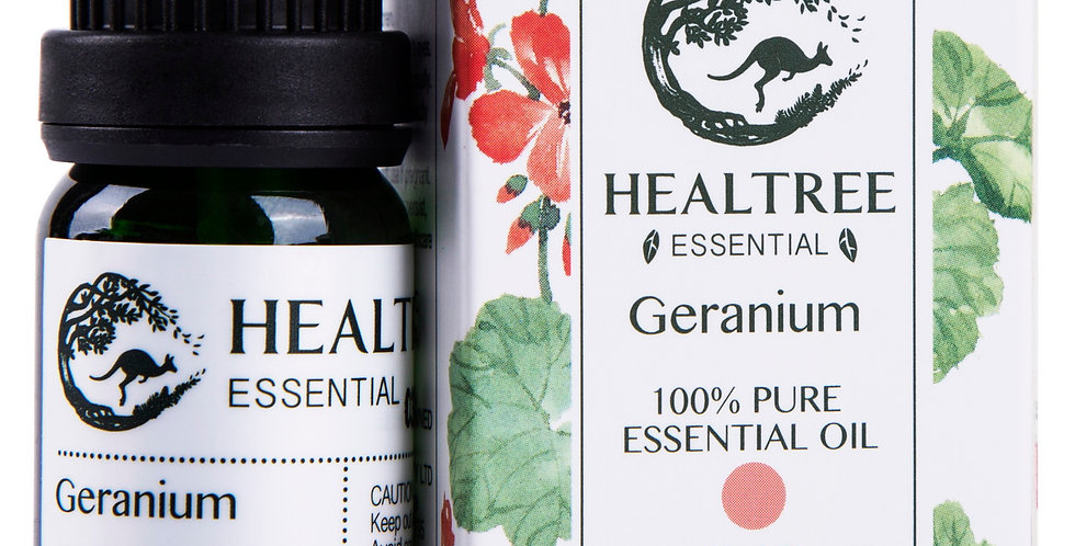 Geranium Essential Oil - 100% Pure Geranium Oil - 10ml