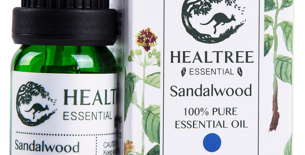 Sandalwood Essential Oil - 100% Pure Sandalwood Oil - 1ml