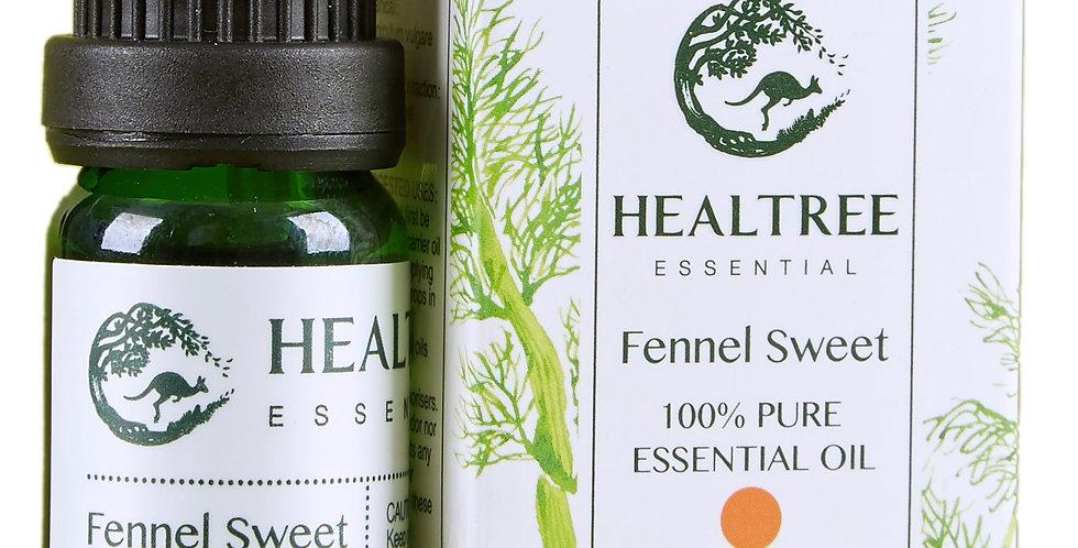 Fennel Sweet Essential Oil - 100% Pure Sweet Fennel Oil - 10ml