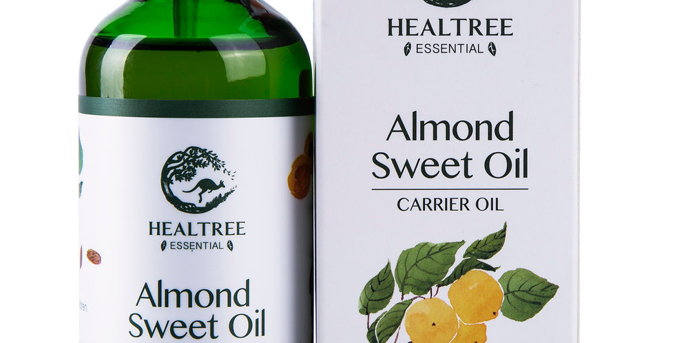 Almond Sweet Carrier Oil 100ml - Australia Virgin Grade - 100% Pure Cold Pressed