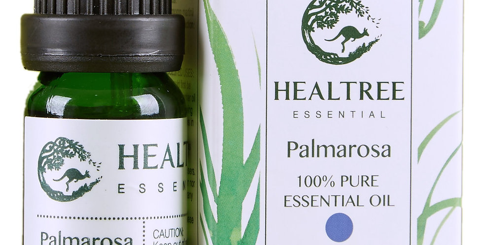 Palmarosa Essential Oil - 100% Pure Palmarosa Oil - 10ml