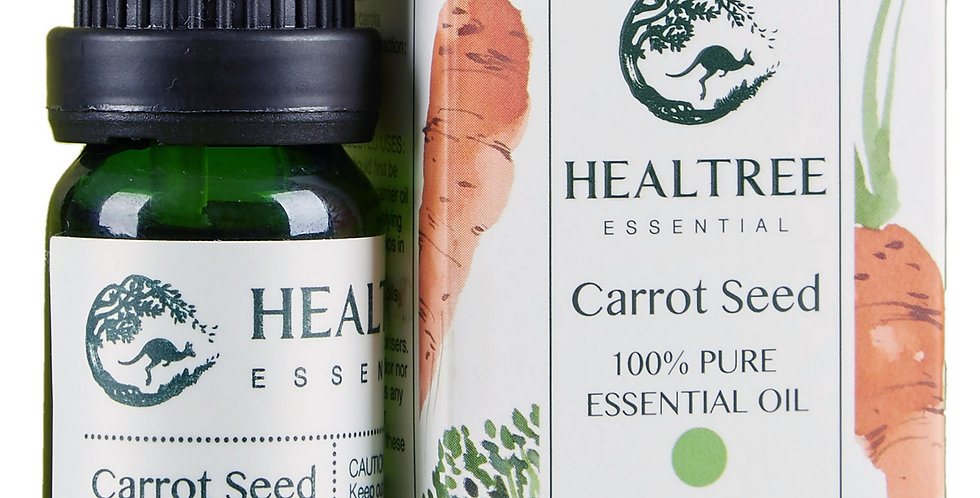 Carrot Seed Essential Oil - 100% Pure Carrot Essential Oil - 10ml